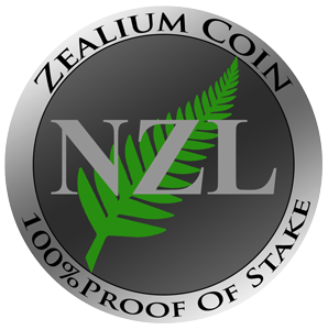 Zealium Coin decentralized cryptocurrency