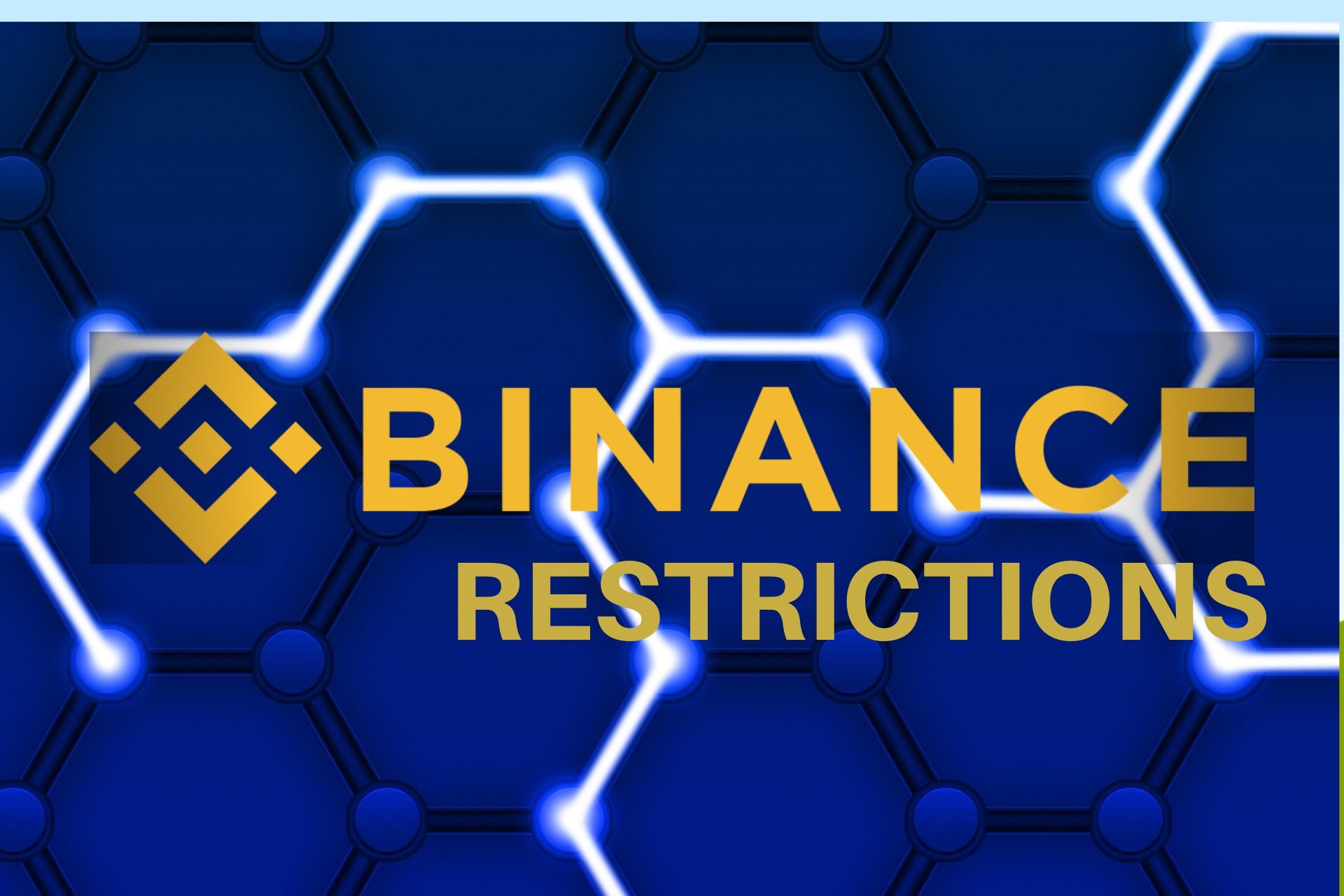 CRYPTO EXCHANGE BINANCE RESTRICTIONS