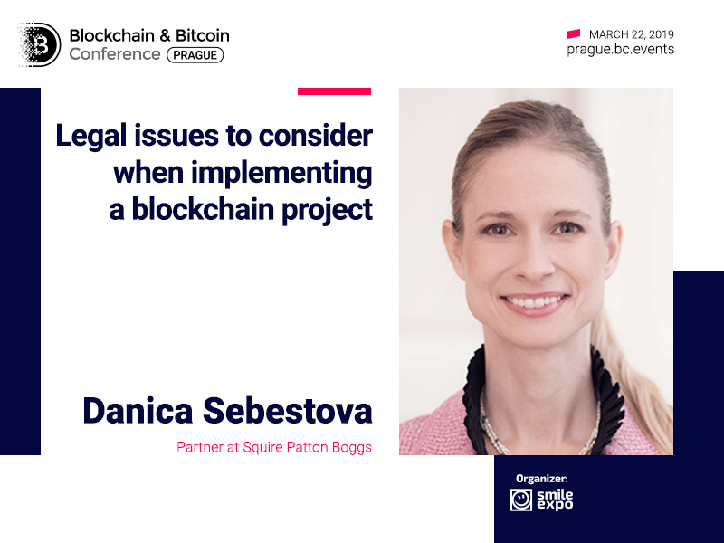 Legal issues of blockchain