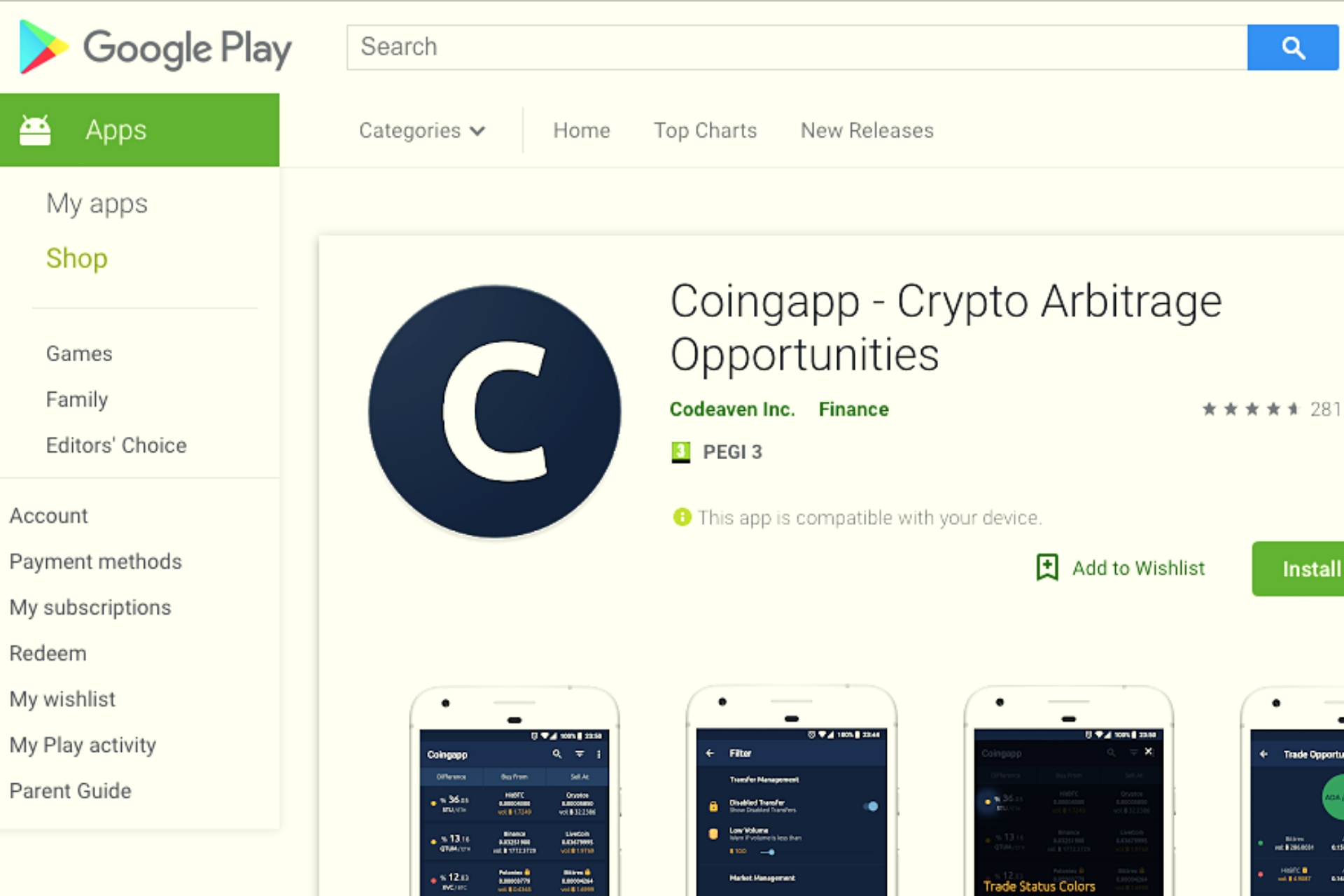 Coingapp Enable Users To Take Advantage Of Market