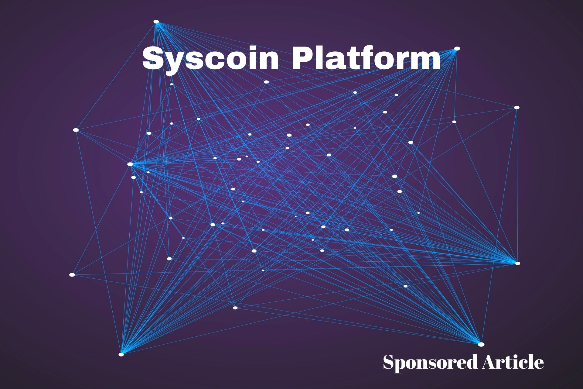 Syscoin article